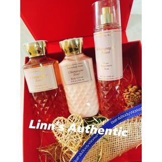BILL Body lotion & Body mist Nước Hoa Toàn Thân & Gel tắm Bath & Body Works Champagne Toast thumbnail