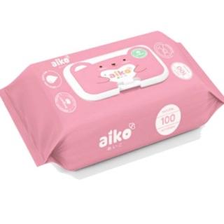 (HCM) Khăn giấy ướt cho bé Aiko (100 tờ)