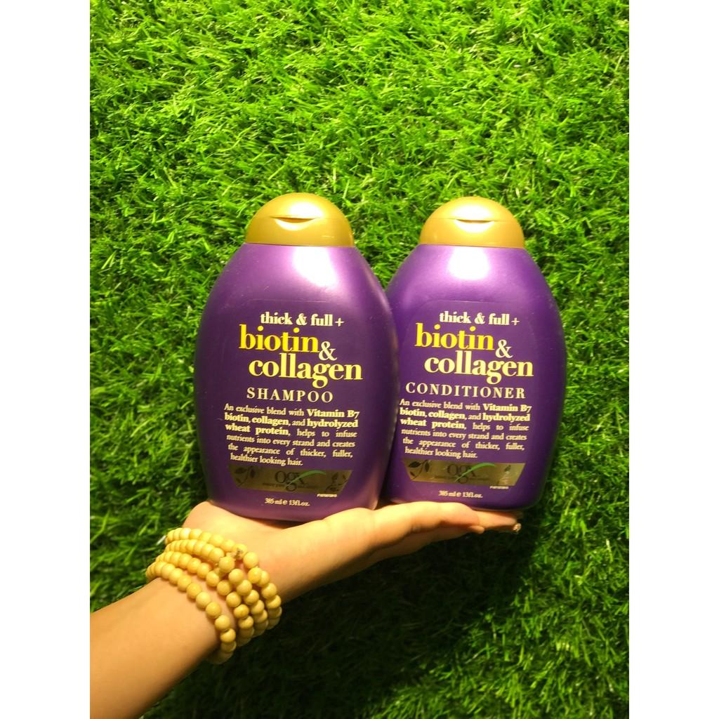 Bộ dầu gội, xả chống rụng và kích thích mọc tóc Thick & Full Organix Biotin & Collagen - 10019994 , 315198129 , 322_315198129 , 450000 , Bo-dau-goi-xa-chong-rung-va-kich-thich-moc-toc-Thick-Full-Organix-Biotin-Collagen-322_315198129 , shopee.vn , Bộ dầu gội, xả chống rụng và kích thích mọc tóc Thick & Full Organix Biotin & Collagen