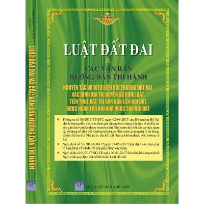 Luật Đất Đai và các văn bản hướng dẫn thi hành
