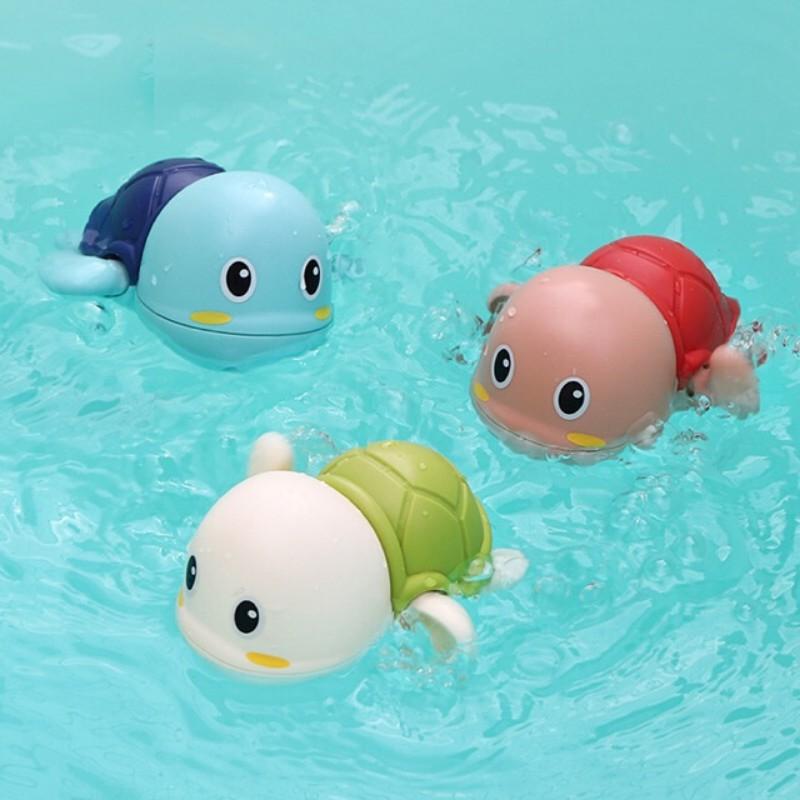 Đồ chơi nhà tắm - Rùa bơi đán