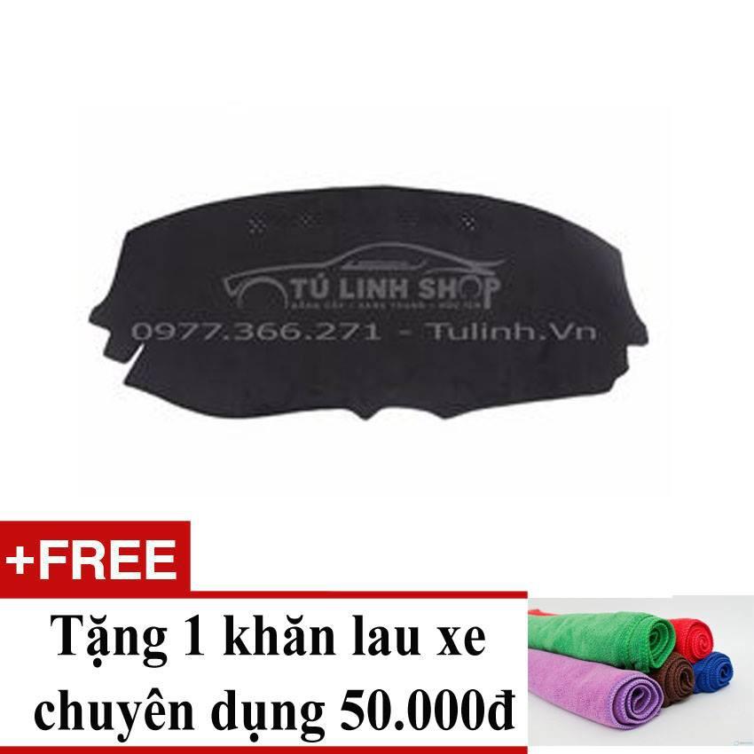 Thảm chống nắng taplo Daewoo Matiz 03-08+ Tặng 1 khăn lau xe chuyên dụng
