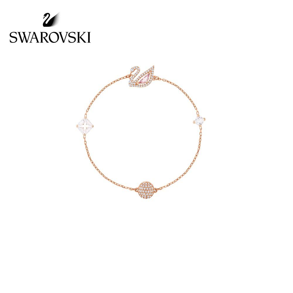 【Alanya Store】Swarovski DAZZLING SWAN Romantic Swan Charm Wild Women Bracelet Gi