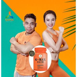Liệu trình 2 hộp giảm cân G-Max Slim tặng ngay 1 Gmax detox trị giá 390k
