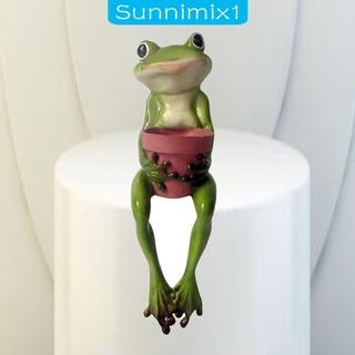 [SUNNIMIX1]Green Frog Sedum Succulent Flower Pot Small Planter