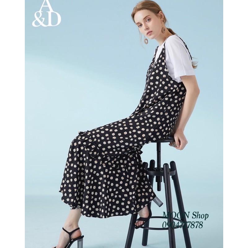 D030321-Bộ đầm hoa (áo + váy)