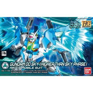 Mô hình lắp ráp Gundam HGBD 1/144 Gundam 00 Sky Higher Than Sky Phase