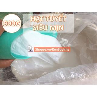 Tuyết Nhân Tạo 500Gram Siêu Mịn Nguyên Liệu Làm Slime Mây NT3161