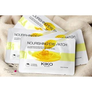 [Mã SRJULY1215 giảm 20K đơn 50K] Mặt nạ mắt - dưỡng ẩm mắt Kiko - Nourishing Eye Patch- Italia thumbnail