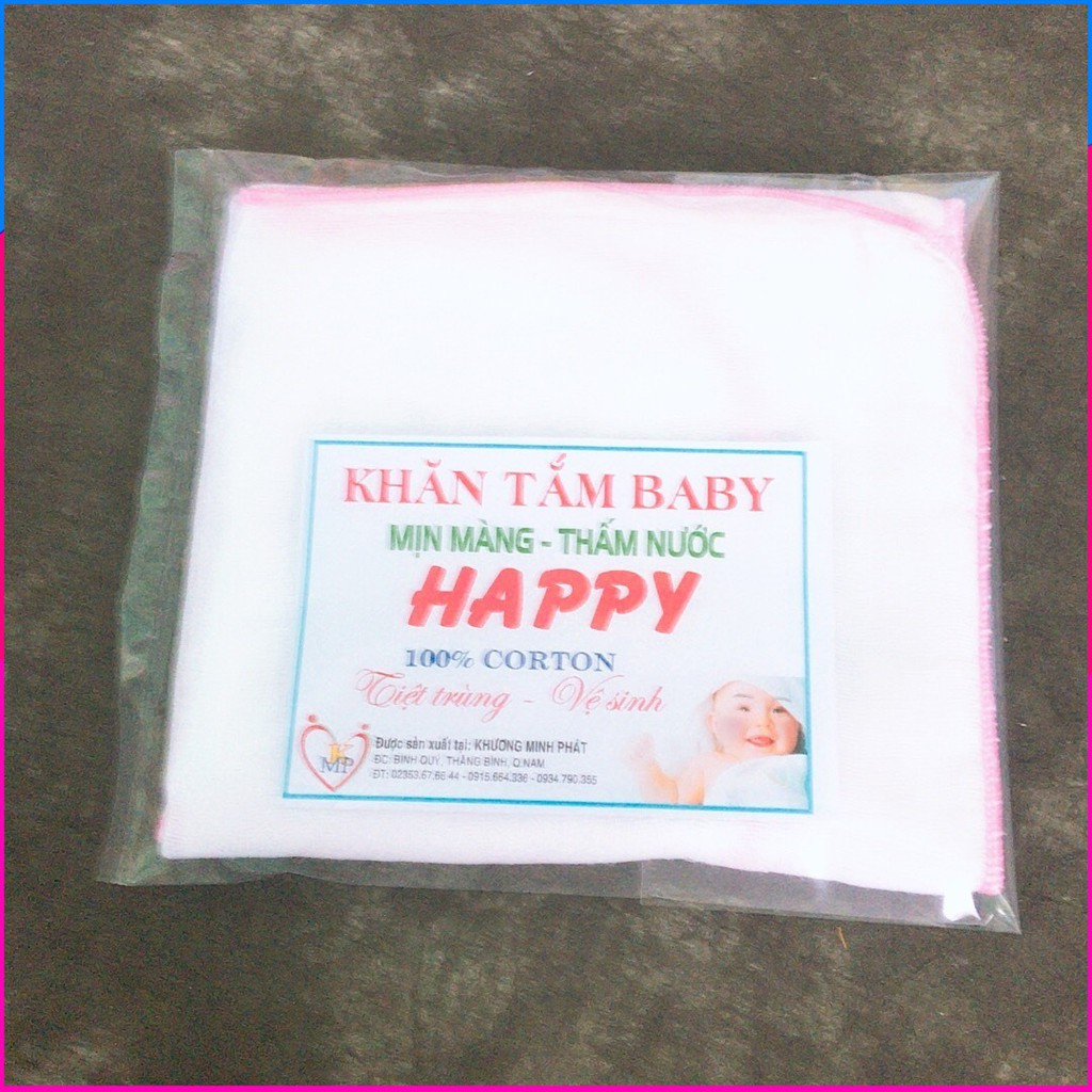 10 Cái Khăn sữa 3 lớp Happy dành cho bé_Ưu đãi 30% - 14695820 , 2403405771 , 322_2403405771 , 39000 , 10-Cai-Khan-sua-3-lop-Happy-danh-cho-be_Uu-dai-30Phan-Tram-322_2403405771 , shopee.vn , 10 Cái Khăn sữa 3 lớp Happy dành cho bé_Ưu đãi 30%