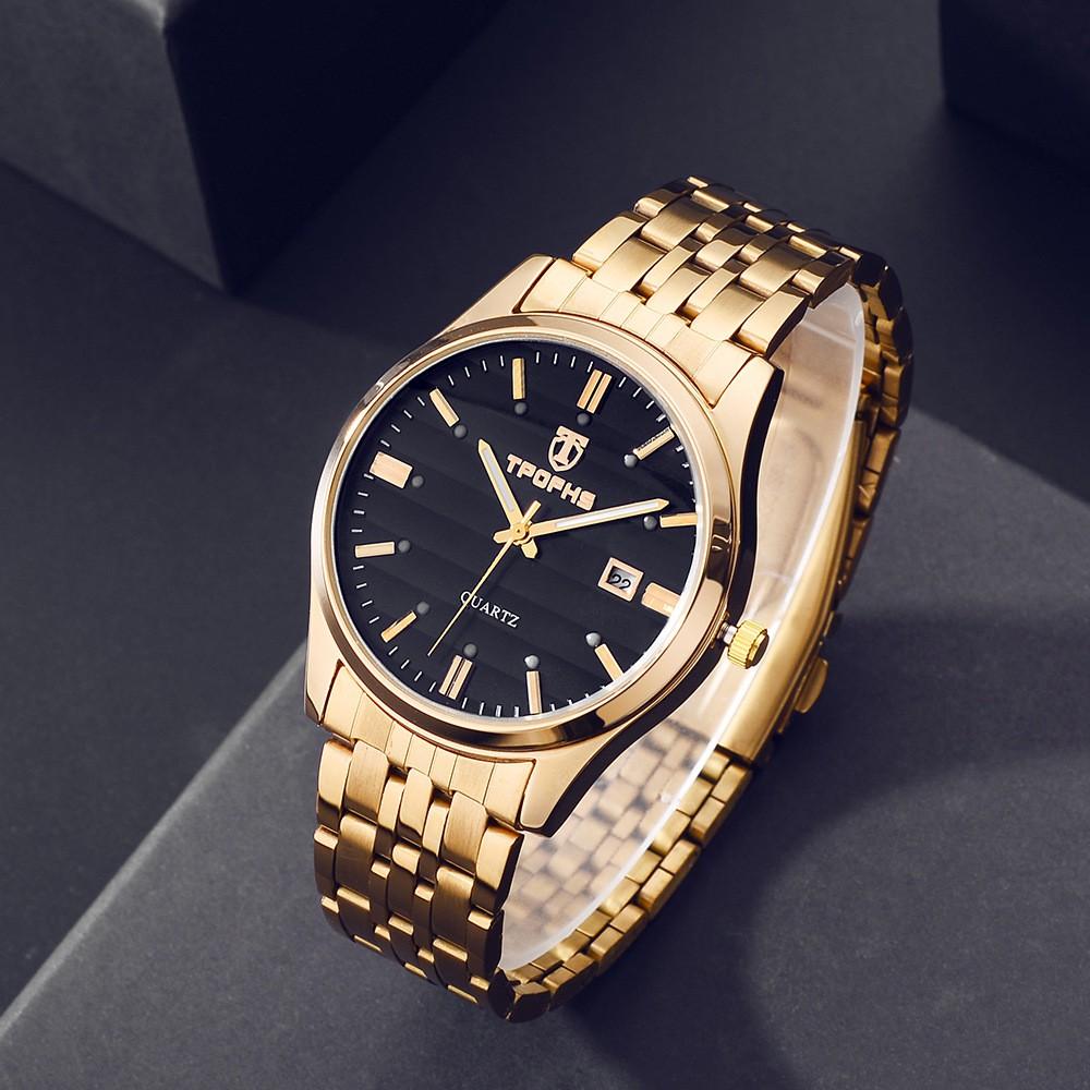 Đồng hồ nam nữ cặp đôi TPOFHS chính hãng,  Đồng hồ nam chính hãng ( Mã: TP21)