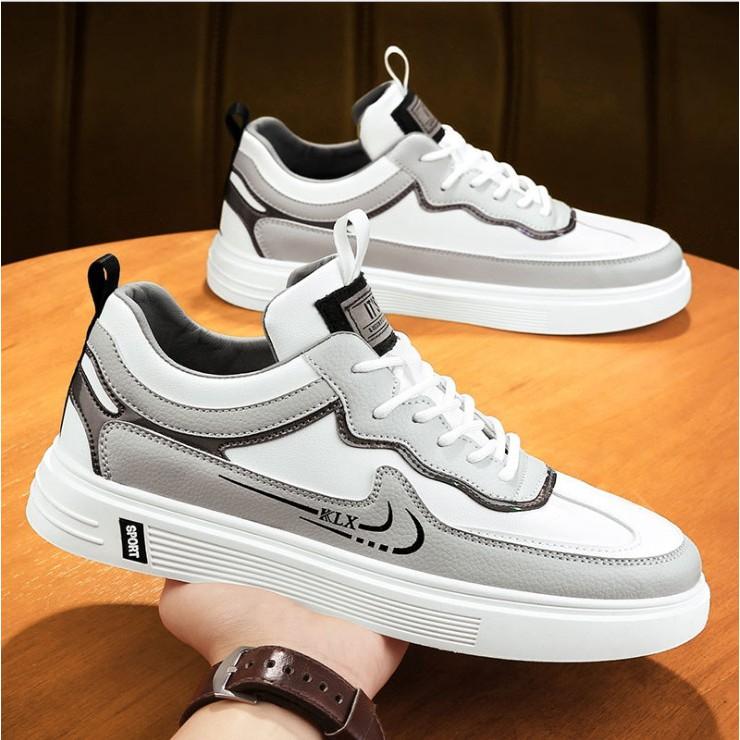 Giày thể thao nam - giày Sneaker nam vải dệt siêu thoáng khí SP - 394