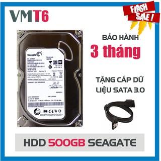 Ổ cứng HDD Seagate 500GB - Bảo hành 3 tháng!