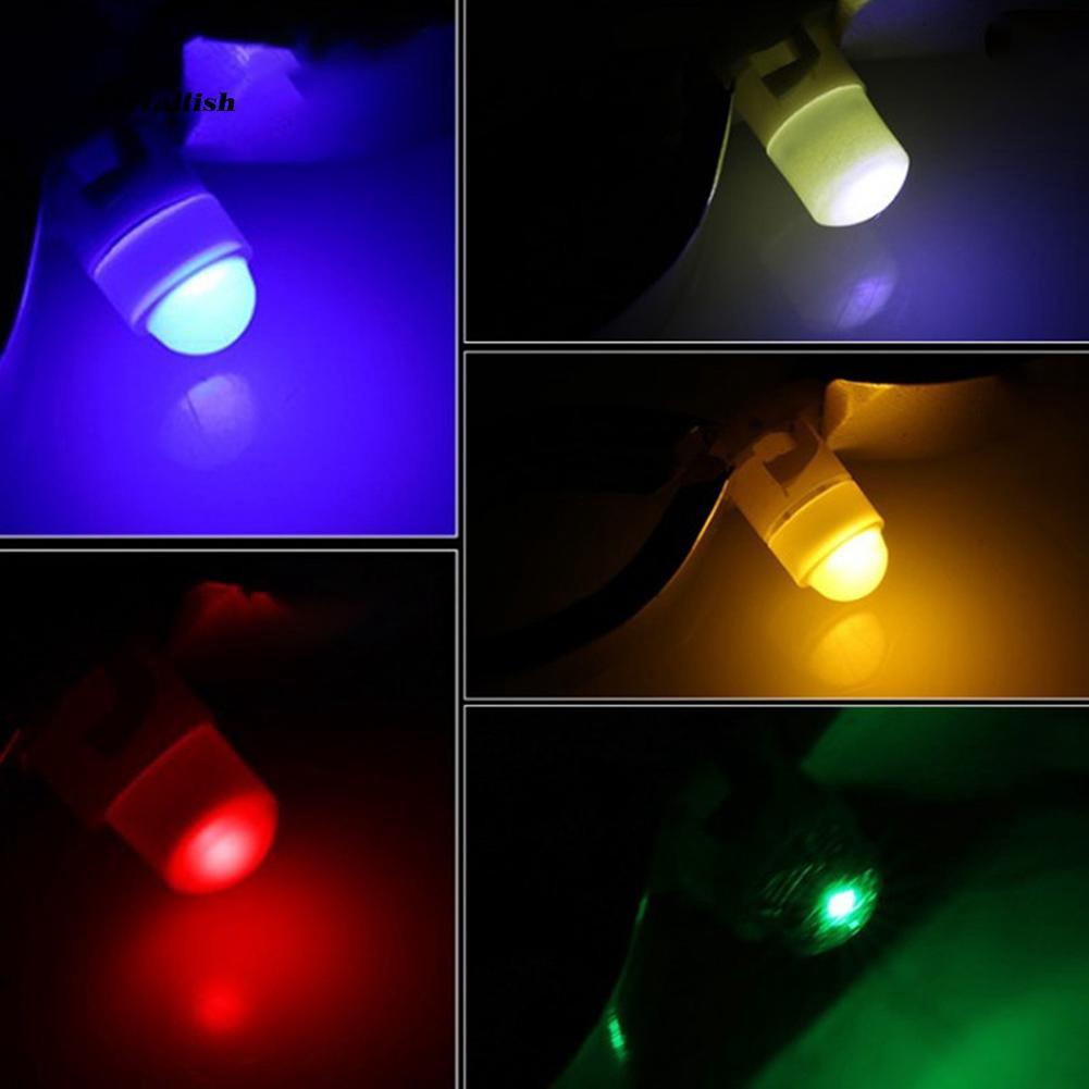 TUR♥10Pcs T3 LED 1SMD 12V Car Dashboard Indicator Light Interior Reading Lamp Bulbs
