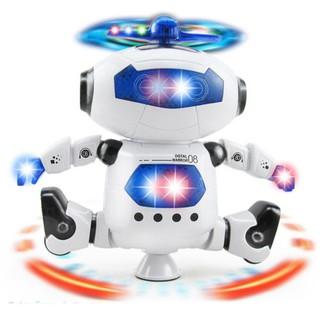Robot Biết Nhảy Và Xoay 360 Độ Theo Điệu Nhạc