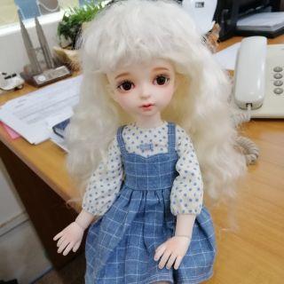 Wig bjd 1/6 myou handmade