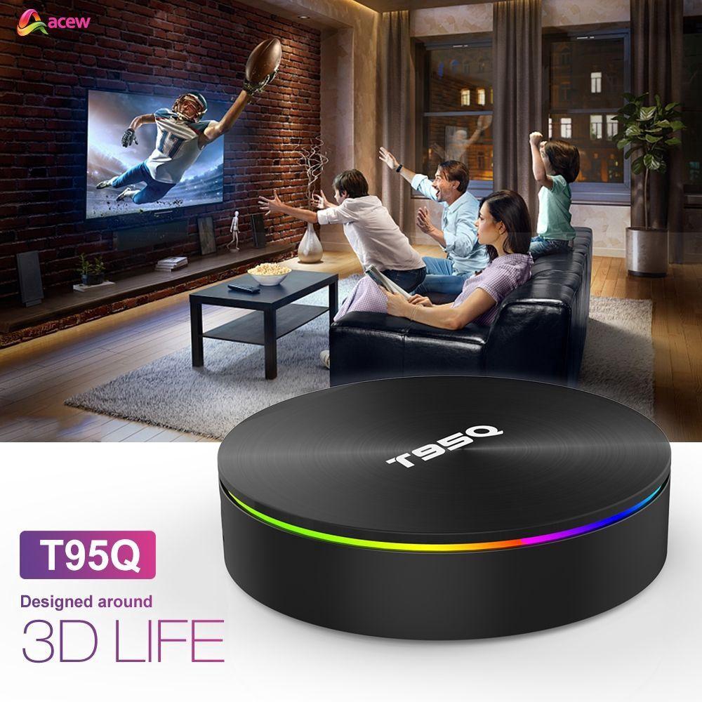 Thiết bị chuyển đổi TV thường thành smart TV Android t95q 4G 32G s905x2 T95Z Plus Android 8.1 epet