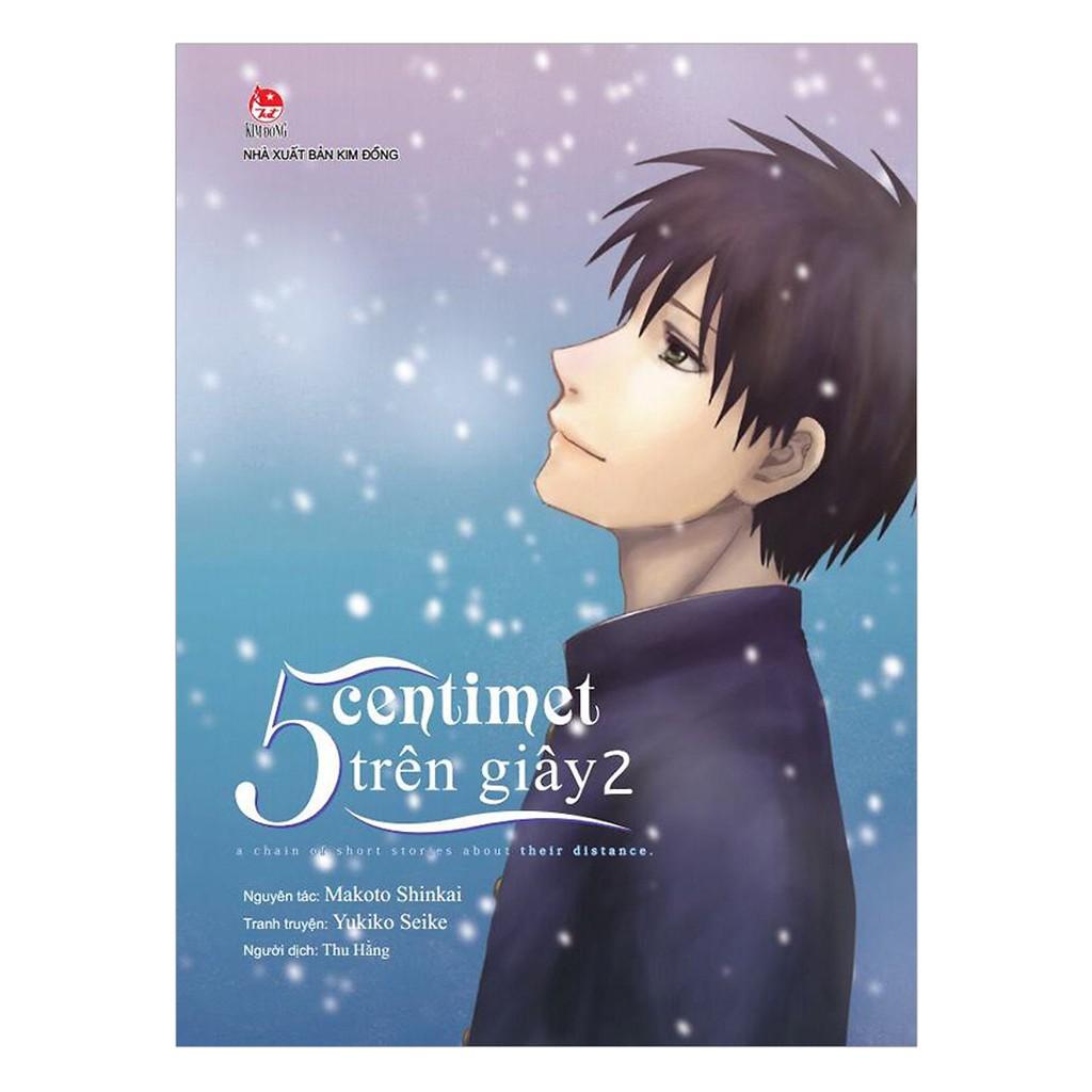 Sách - 5 Centimet Trên Giây (Bản Manga) (Tập 2...