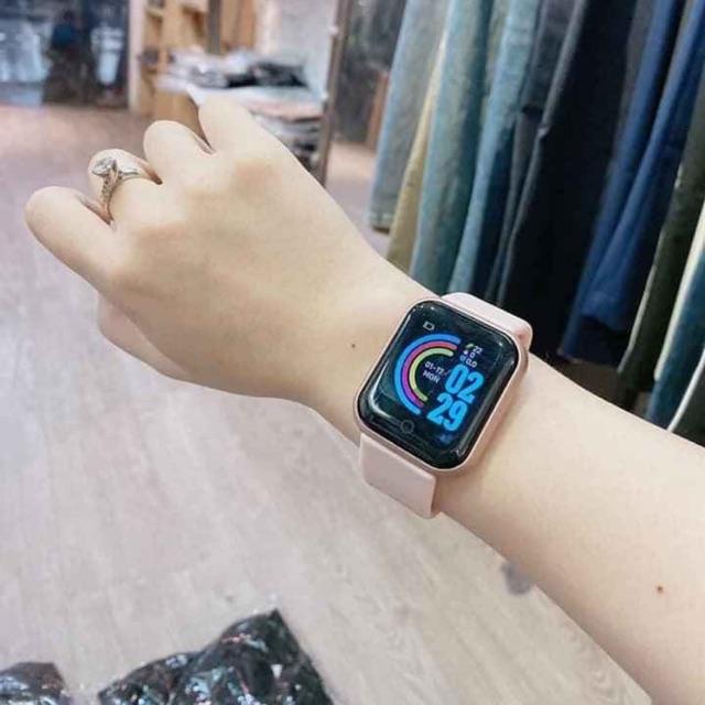 Đồng hồ thông minh Y68 ( về sẵn đủ )