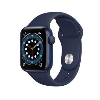 Đồng hồ thông minh Apple Watch Series 6 40mm 44mm (GPS) viền nhôm xám - Dây cao su