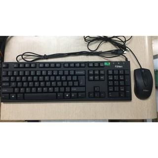 Bộ Bàn phím chuột Fuhlen cũ chơi game – Bàn phím chuột cũ chơi game cổng USB