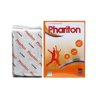 Viên uống tăng cường sức đề kháng PHARITON hộp 60 Viên bổ sung Vitamin và Khoáng chất