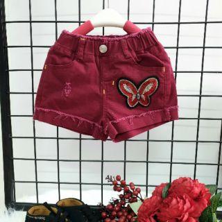 Quần short Kaki bé gái, quần đùi kaki bé gái
