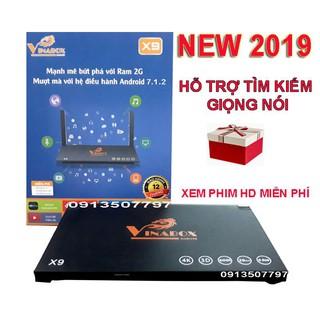 Yêu Thíchđầu thu android tv box vinabox x9 ram 2g rom 16g mới 2019