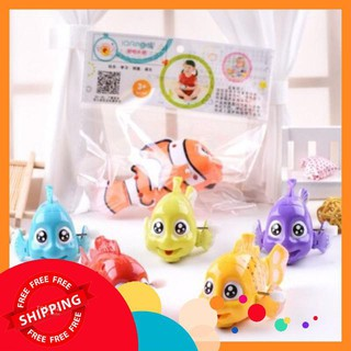 Đồ chơi vặn cót hình con cá IQ Angel ,đồ chơi vặn cót,đồ chơi hình thú,đồ chơi hoạt hình