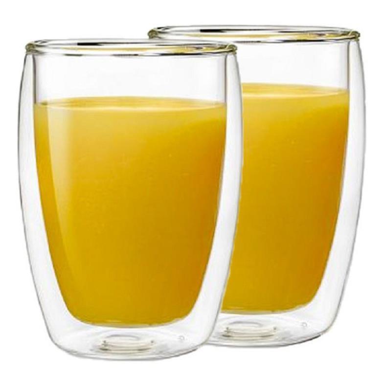 Bộ cốc thủy tinh 2 lớp cách nhiệt Bodum-Pavina (2 chiếc), 350ml | Shopee  Việt Nam