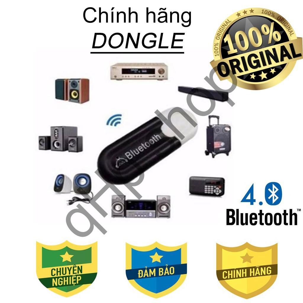 Usb Bluetooth Chính hãng Dongle V4.0, biến loa, amly thường thành loa Bluetooth Hàng chính hãng chất lượng cam kết