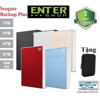 Ổ cứng di động 5Tb Đến 1Tb Seagate Backup Plus Usb 3.0 Tặng túi đựng