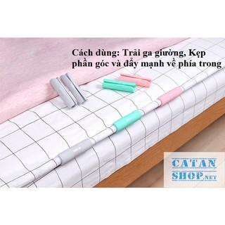 Set 12 Kẹp cố định chống trượt cho chăn ga giường tiện lợi, thông minh