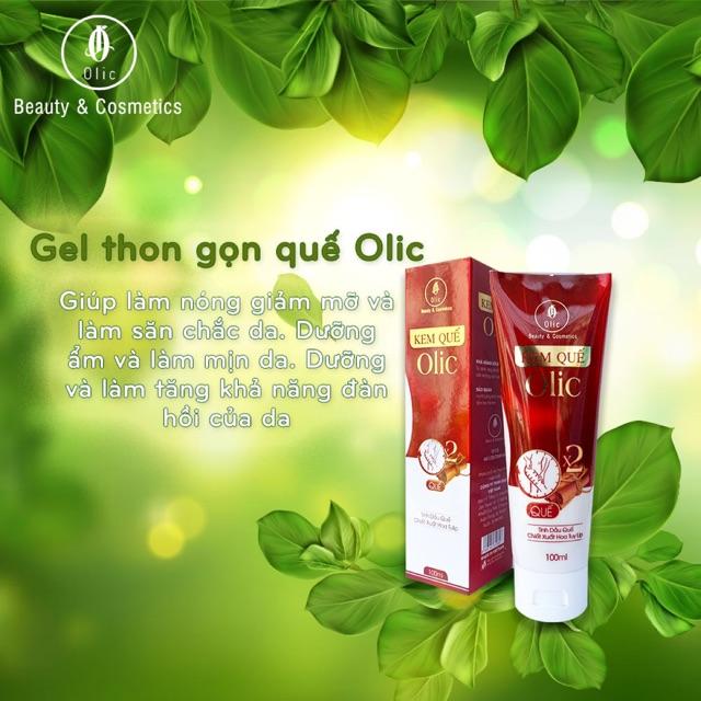Gel Tan Mỡ OLIC (Kem Quế Olic Mẫu mới - Chính hãng 100%)