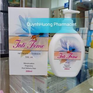 Dung dịch vệ sinh phụ nữ INTI FEME cao cấp từ Ý. thumbnail