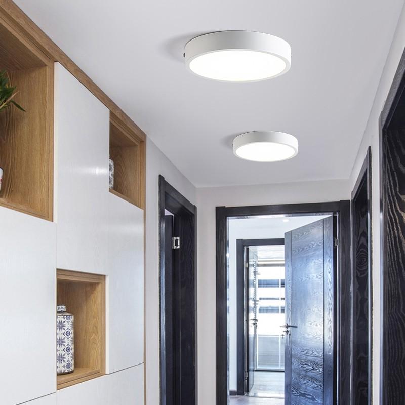 Combo10 đèn ốp trần nổi MONSKY 24W Tròn 2 màu ánh sáng hiện đại