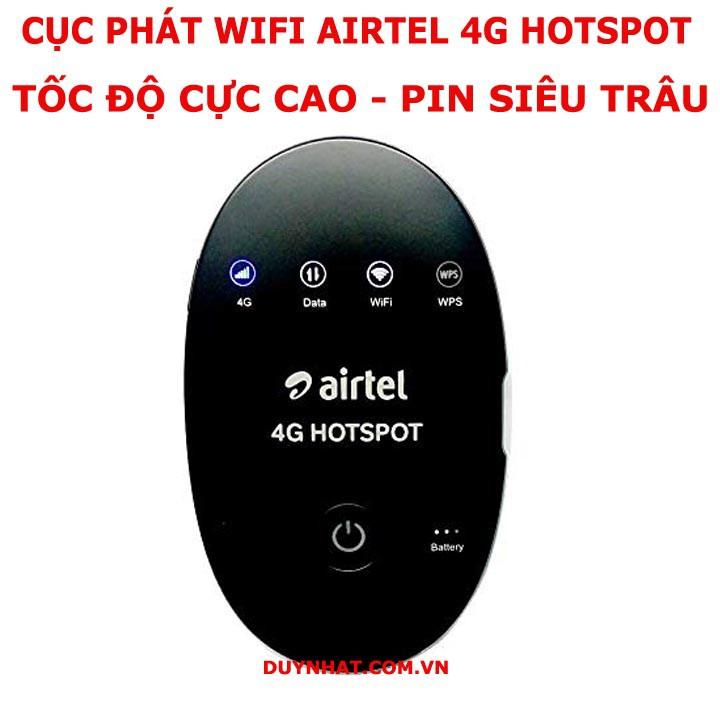 (SIÊU GIẢM GIÁ) BỘ PHÁT WIFI DI ĐỘNG ZTE WD670 4G LTE, TỐC ĐỘ CAO