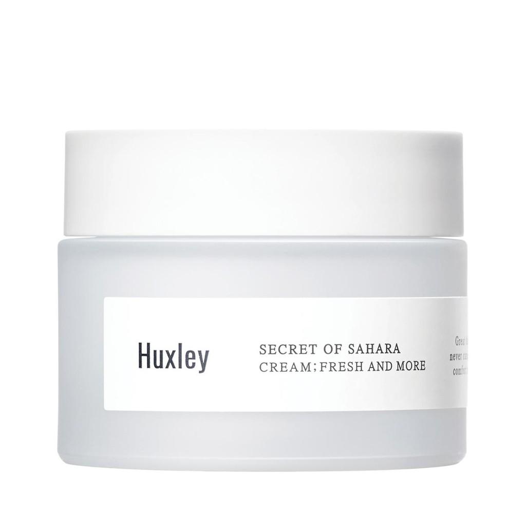 Kem dưỡng da ẩm mượt dạng gel cao cấp dành cho da khô da dầu chiết xuất xương rồng Huxley Cream Fres
