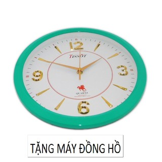 Đồng Hồ Treo Tường Tròn TISSOT (S8)XN 30cm (Nhiều màu) + Tặng Máy đồng hồ treo tường