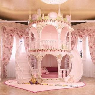 Giường lâu đài công chúa