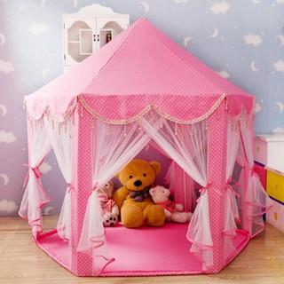 Lều lục giác Hàn Quốc cho bé – Lều công chúa kiểu dáng Hàn Quốc