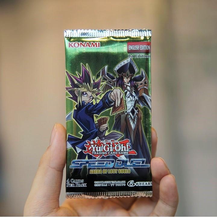 Túi thẻ bài yugioh Speed Duel: Arena of Lost Souls - 4 lá bài mỗi