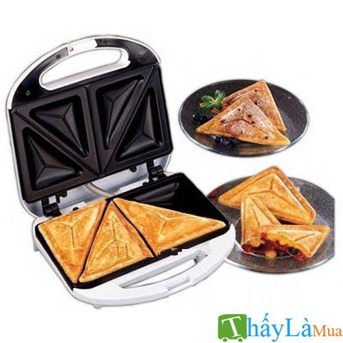 máy nướng bánh sandwich nikai cao cấp