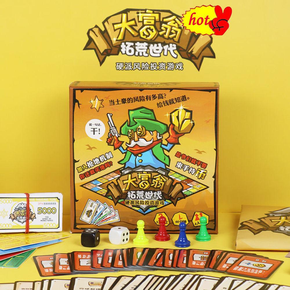 Bộ Đồ Chơi Game Monopoly Pioneer Sa Mạc Cổ Điển Cho Học Sinh