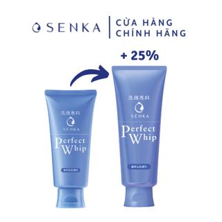 Sữa rửa mặt tạo bọt chiết xuất tơ tằm trắng Senka Perfect Whip 150g_15519