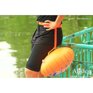 phao bơi biển oval đeo thắt lưng 2 túi khí cho dân bơi chuyên nghiệp thumbnail