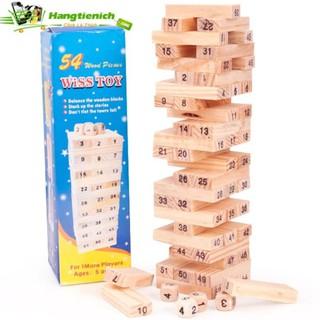 Bộ trò chơi rút gỗ 54 thanh- luyện khéo tay cho bé VRG0079843 Y((Ảnh chính chủ))