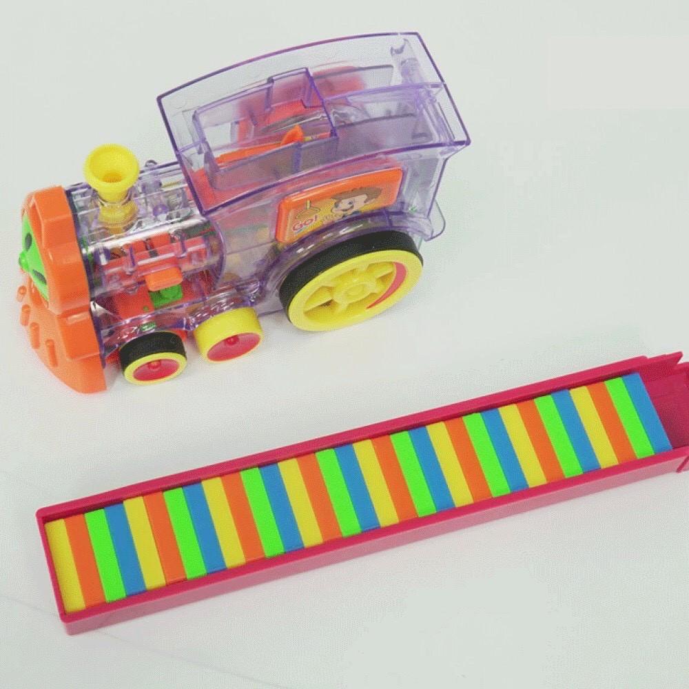 [XẢ KHO] Đồ chơi Tàu hoả xếp domino cho bé [HOT SALE] mẫu mới, an toàn, thú vị TẶNG KÈM...