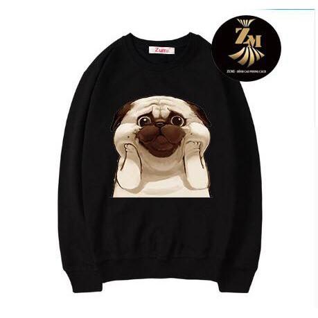 Áo Nỉ Sweater Nam Nữ Đều Mặc Được  New Tee Hot Big Size Dưới 100kg Cao Cấp - SW20054