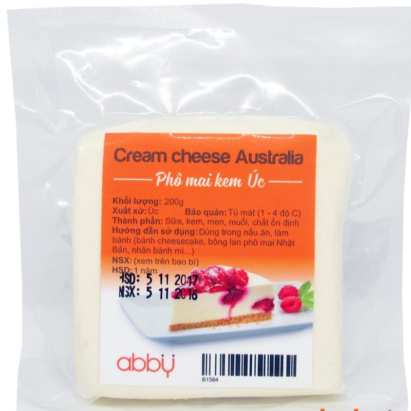 CREAM CHEESE AUSTRALIA GÓI 200G